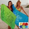 color custom printed beach towels