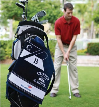 Cutter & Buck promotional golf towels