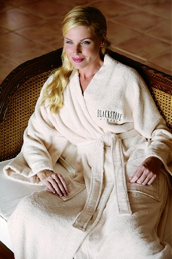 Embroidered Bamboo Bath Robes