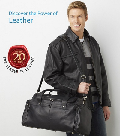 Company Logo Leather Jackets and Bags