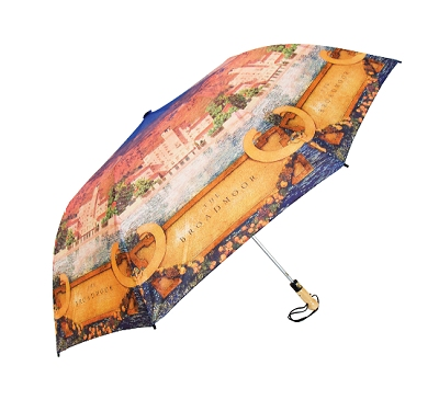 Custom printed company umbrellas for  promotions