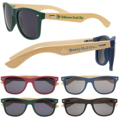 Custom printed logo sunglasses for events and promotions